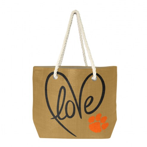 Clemson Tigers Rope Tote