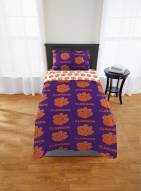 Clemson Tigers Rotary Twin Bed in a Bag Set
