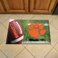 Clemson Tigers Scraper Door Mat