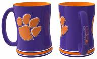 Clemson Tigers Sculpted Relief Coffee Mug