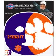 Clemson Tigers Set of 8 Game Day Faces