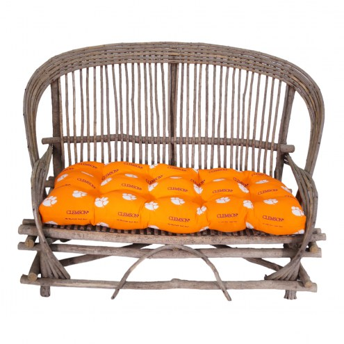 Clemson Tigers Settee Chair Cushion