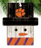 Clemson Tigers Snowman Ornament