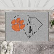 Clemson Tigers Southern Style Starter Rug