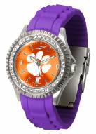 Clemson Tigers Sparkle Women's Watch