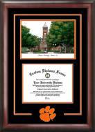 Clemson Tigers Spirit Diploma Frame with Campus Image