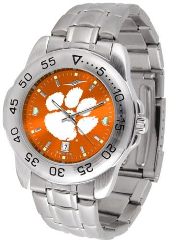 Clemson Tigers Sport Steel AnoChrome Men's Watch
