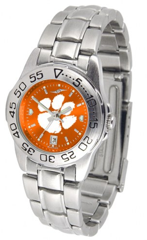 Clemson Tigers Sport Steel AnoChrome Women's Watch