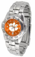 Clemson Tigers Sport Steel AnoChrome Women's Watch