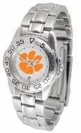 Clemson Tigers Sport Steel Women's Watch