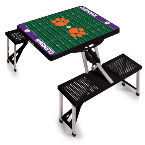 Clemson Tigers Sports Folding Picnic Table