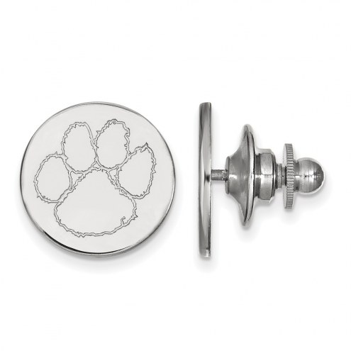 Clemson Tigers Sterling Silver Lapel Pin