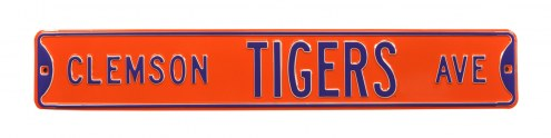 Clemson Tigers Street Sign
