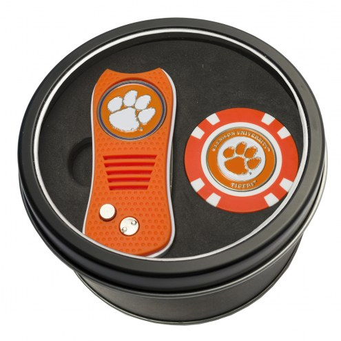 Clemson Tigers Switchfix Golf Divot Tool & Chip