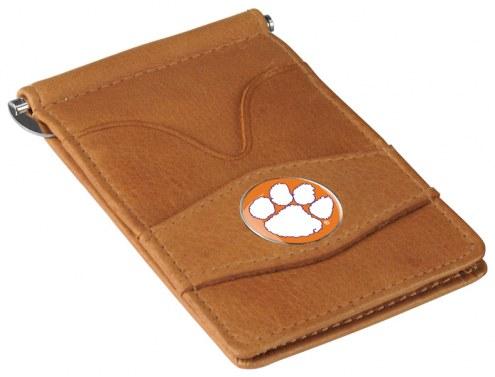 Clemson Tigers Tan Player's Wallet