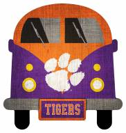 Clemson Tigers Team Bus Sign