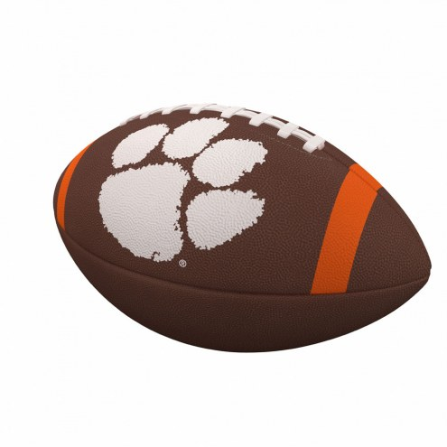 Clemson Tigers Team Stripe Official Size Composite Football