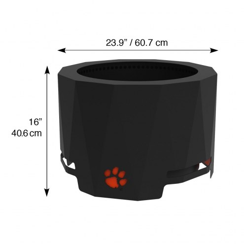 Clemson Tigers The Peak Patio Fire Pit on The Peak Patio Fire Pit id=60625