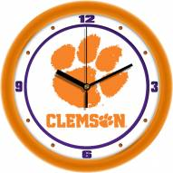 Clemson Tigers Traditional Wall Clock