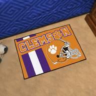 Clemson Tigers Uniform Inspired Starter Rug
