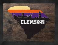 Clemson Tigers Uscape Wall Decor