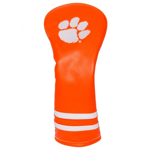 Clemson Tigers Vintage Golf Fairway Headcover