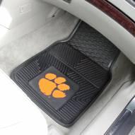 Clemson Tigers Vinyl 2-Piece Car Floor Mats