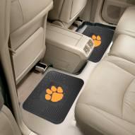 Clemson Tigers Vinyl 2-Piece Rear Floor Mats