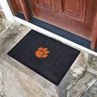 Clemson Tigers Vinyl Door Mat