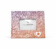 Clemson Tigers Watercolor Picture Frame