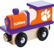 Clemson Tigers Wood Toy Train