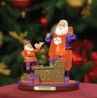 Clemson Tigers Workshop Santa With Free Ornament