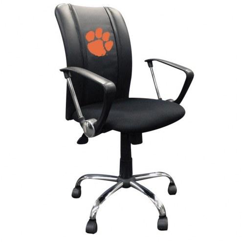 Clemson Tigers XZipit Curve Desk Chair
