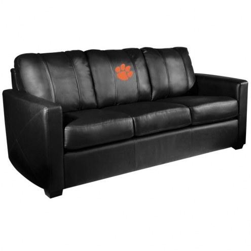 Clemson Tigers XZipit Silver Sofa