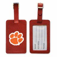 Clemson Tigers Basketball Luggage Tag