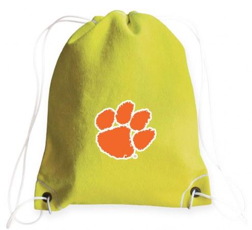 Clemson Tigers Tennis Drawstring Bag