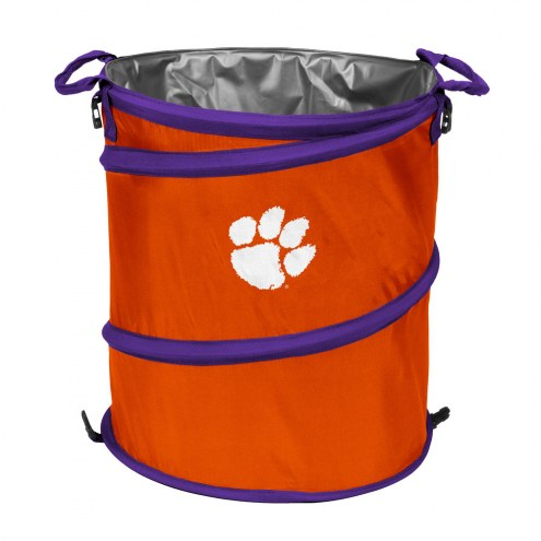 Clemson Tigers Collapsible Trashcan