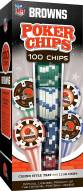 Cleveland Browns 100 Piece Poker Chips