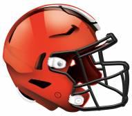 """Cleveland Browns 12"""" Helmet Sign"""