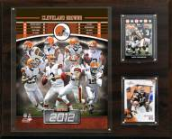 "Cleveland Browns 12"" x 15"" Team Plaque"