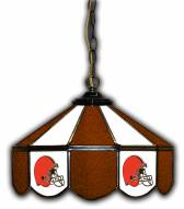 "Cleveland Browns 14"" Glass Pub Lamp"