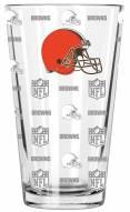 Cleveland Browns 16 oz. Sandblasted Pint Glass