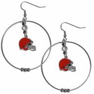 """Cleveland Browns 2"""" Hoop Earrings"""