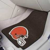 Cleveland Browns 2-Piece Carpet Car Mats