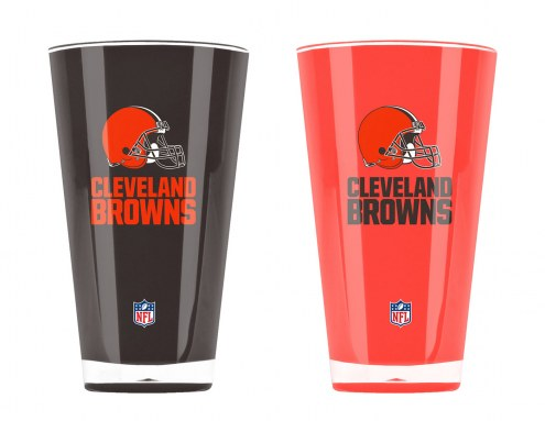 Cleveland Browns 20 oz. Insulated Acrylic Tumbler Twin Pack
