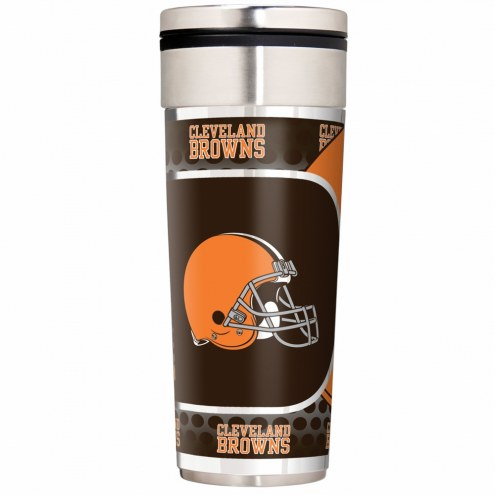 Cleveland Browns 22 oz. Hi Def Travel Tumbler