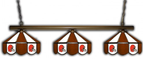 Cleveland Browns 3 Shade Pool Table Light