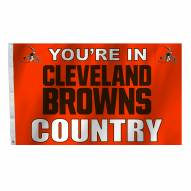 Cleveland Browns 3' x 5' Country Flag