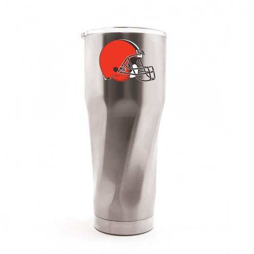 Cleveland Browns 30 oz. Stainless Steel Travel Tumbler