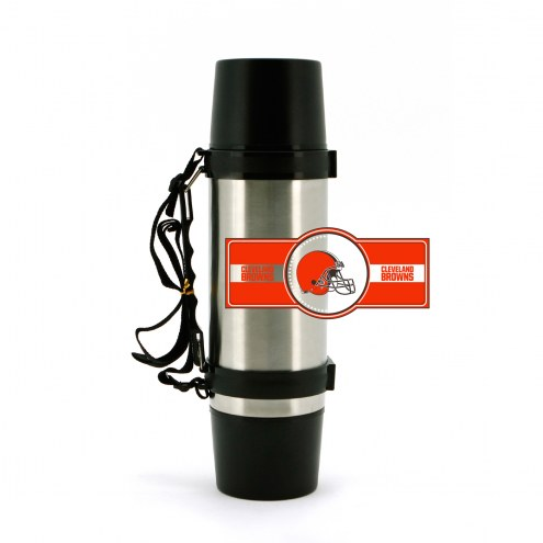 Cleveland Browns 40 oz. Stainless Steel Super Thermos